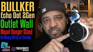 Download Outlet Wall Mount for Echo Dot 2 Gen : LGTV Review Video