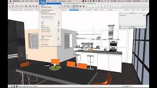 Download SketchUp tips for interior designers Video