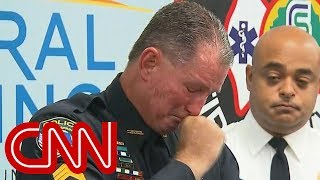 Download Officer brought to tears recounting school shooting Video