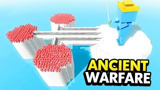 Download *NEW* KING OF FROST vs BRIDGE OF ICE IN ANCIENT WARFARE 3 (Ancient Warfare 3 Funny Gameplay) Video