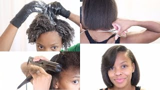 Download Trim + Silk Blowout + Dry Hair Solutions | My 3 Month Routine | Start To Finish Video