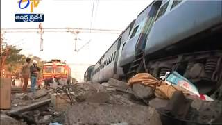 Download Railway Officials looking Techincal Issues in Hirakhand Express Derailment Video