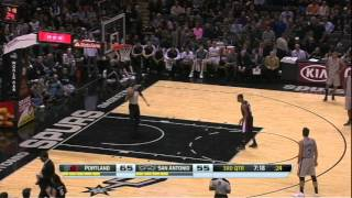 Download Manu Ginobili scores 18 straight points after Pop ejection Video