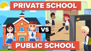 Download Private School vs Public School - How Do The Students Compare? Video