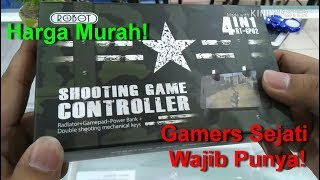 Download Gamers Sejati Wajib Punya! Shooting Game Controller 4IN1 RT-GP02 Video