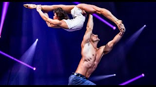 Download Duo Destiny - Hand to hand Bench Act | 39th Cirque de Demain Video