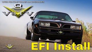 Download 1978 Pontiac Trans Am FAST EZ EFI Fuel Injection Overdrive Engine Upgrades V8TV V8 Speed & Resto Video