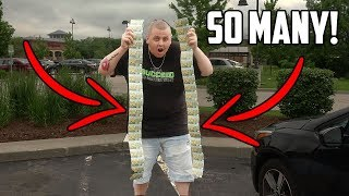 Download I BOUGHT SO MANY LOTTERY TICKETS IN CHICAGO! I Bought Every Lottery Ticket In The Machine! Video