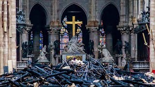 Download Inside Notre-Dame Cathedral after the fire Video