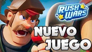 Download PROBANDO EL NUEVO JUEGO DE SUPERCELL: RUSH WARS EN DIRECTO Video