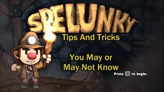Download Spelunky Tips and Tricks (That You May or May Not Know) Video
