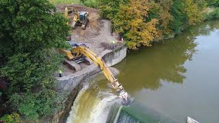 Download Ballville Dam Removal Day 1 Video