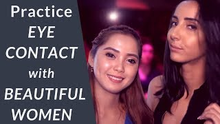 Download Practice Eye Contact With Beautiful Women Video