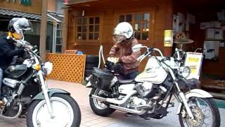 Download Women Riders DrugStar 250 YAMAHA ドラッグスター250 Video