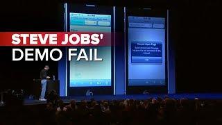 Download CNET News: Steve Jobs' demo fail Video
