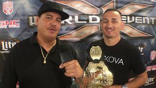 Download X1 Big Al Max Holloway Interview Video