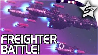 Download FREIGHTER BATTLE!! - No Man's Sky FOUNDATION UPDATE Gameplay Part 3 Update 1.1 Video