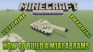 Minecraft Tutorial How To Build WW2 M4 Sherman Update Version Free