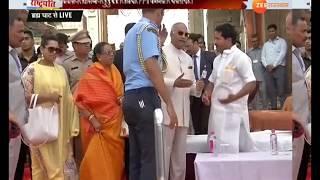 Download अजमेर: राष्ट्रपति ने पुष्कर के मंदिर में की पूजा-अर्चना Video