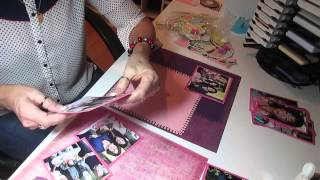Download 2 page 12x12 scrapbook layout Video