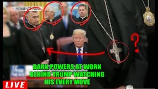 Download Very Frightening & Disturbing... these 3 MEN IN BLACK with TRUMP are much DARKER than we think! Video