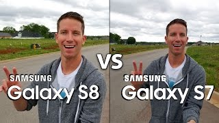 Download SAMSUNG GALAXY S8 vs S7 Camera Test Comparison! (4K) Video