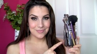 Download My Most-Used Makeup Brushes! Video