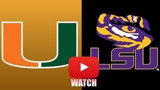 Download Miami vs LSU Week 1 Full Game Highlights (HD) Video