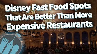 Download 15 Disney Fast Food Spots That Are Better Than More Expensive Table-Service Restaurants! Video