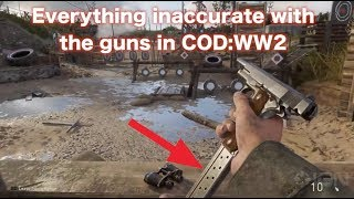Download Everything I can find wrong with the guns of COD:WW2 Video