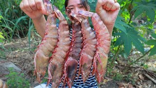 Download Yummy Giant Tiger Shrimp Cooking - Giant Tiger Shrimp Stir Fry Recipe - Cooking With Sros Video