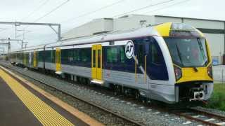 Download Aucklands NEW Electric Trains from CAF, Spain. Testing + (New Horn) Video
