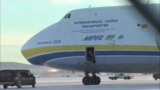 Download Antonov 225 Landing in Fairbanks, Alaska Video