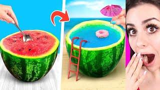 Download Amazing Watermelon LIFE HACKS and Pranks Video