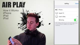 Download Airplay iOS 8 how to activated , mirroring iPhone iPad iPod apple tv Video