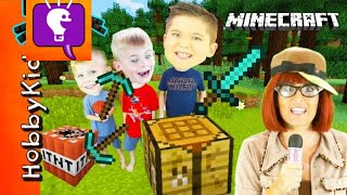 Download Minecraft SCAVENGER HUNT for Surprise Toys! We Play Video Games with HobbyBobby Video