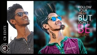 Download Awesome CB editing | How to edit like CB edits | Photoshop CC Tutorial | High color contrast Video