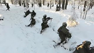 Download NATO Prepares to Face Russia: Military Exercise in Lithuania Video