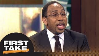 Download Stephen A. sounds off on Trump's tweets about LeBron James | First Take | ESPN Video