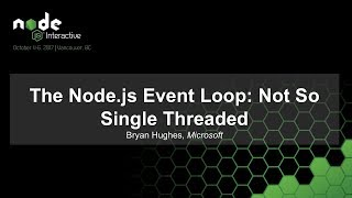 Download The Node.js Event Loop: Not So Single Threaded Video