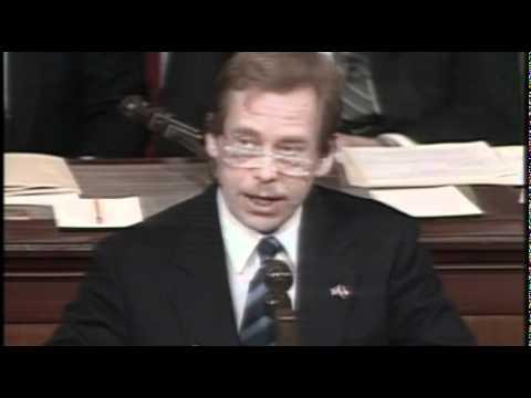 Prezident Václav Havel - U.S. Congress (1990)