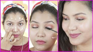 Download मेकअप कैसे करें घर पर /how to do makeup step by step for beginners in hindi Video
