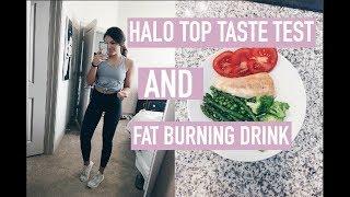 Download HALO TOP TASTE TEST & FAT BURNING DRINK Video