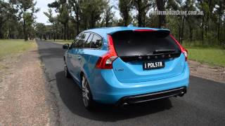 Download 2015 Volvo V60 Polestar 0-100km/h & engine sound Video