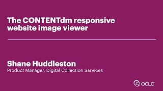 Download The CONTENTdm responsive website image viewer Video
