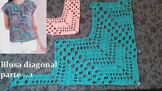 Download Blusa diagonal en crochet (parte 1) Video