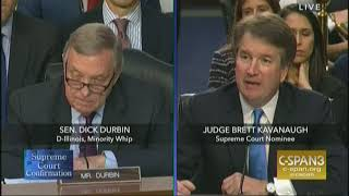Download Durbin questions Supreme Court nominee Brett Kavanaugh on Garza case Video