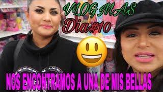 Download VLOGMAS DIA#10NOS ENCONTRAMOS A UNA DE MIS BELLAS😃//HACIENDO COMPRAS NAVIDEÑAS 🎄🎁 Video