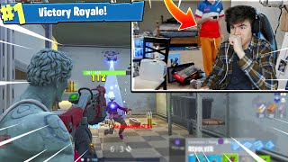 Download I PLAYED FORTNITE IN NINJAS ROOM 😱Then this happens.. Video