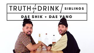 Download Brothers Play Truth or Drink (Dae Shik & Dae Yang) | Truth or Drink | Cut Video